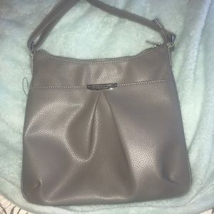 Grey jones New York crossbody purse